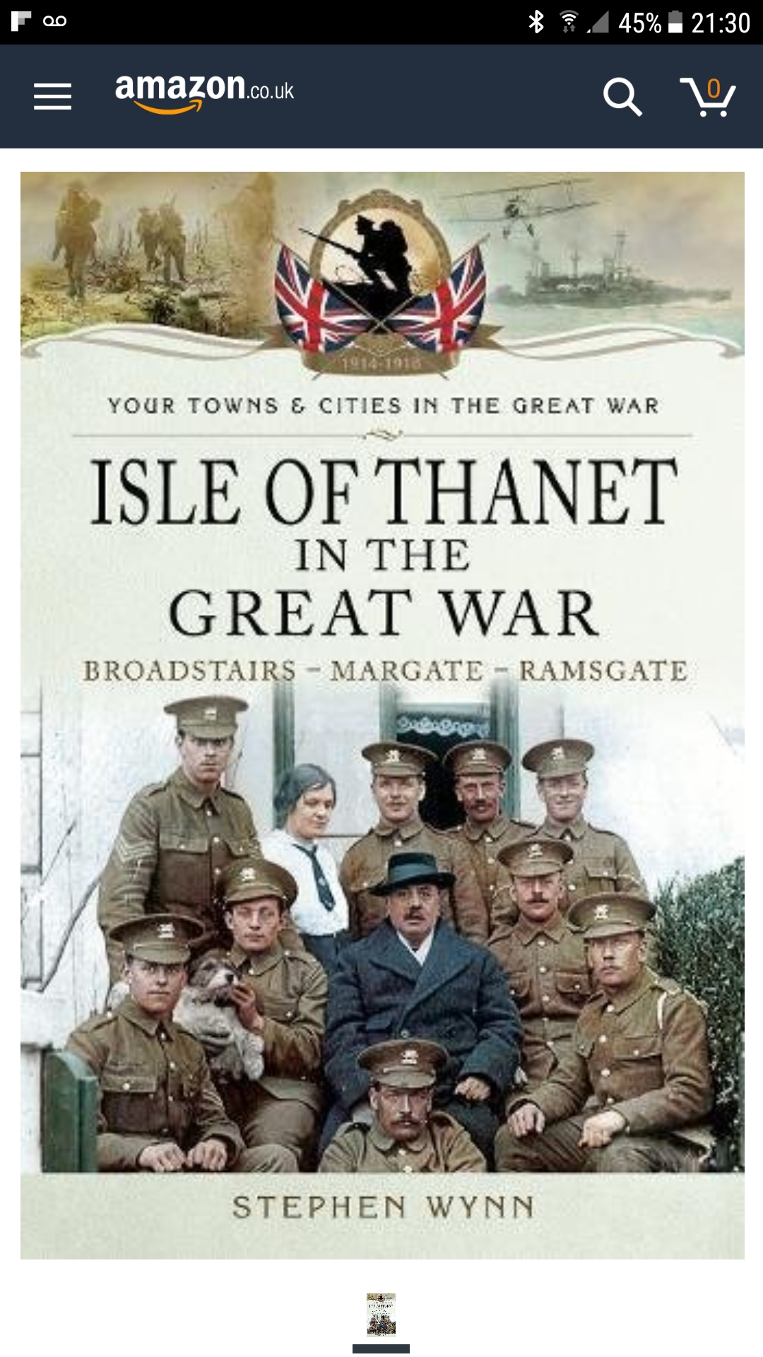 Isle of Thant in the Great War